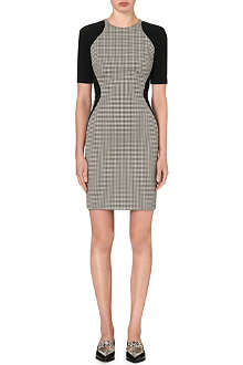 STELLA MCCARTNEY Houndstooth-panel dress