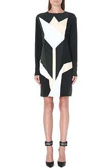 STELLA MCCARTNEY Tulip-print crepe dress