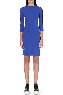 STELLA MCCARTNEY Fitted back pleat dress