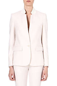 STELLA MCCARTNEY Inverted-lapel wool blazer