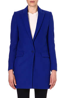 STELLA MCCARTNEY Single-breasted wool-blend coat