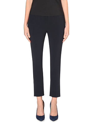 STELLA MCCARTNEY Slim stretch-crepe jogging bottoms