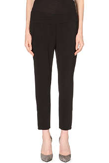 STELLA MCCARTNEY Crepe jogging bottoms