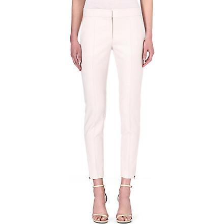 STELLA MCCARTNEY Vivianne wool trousers (Stone