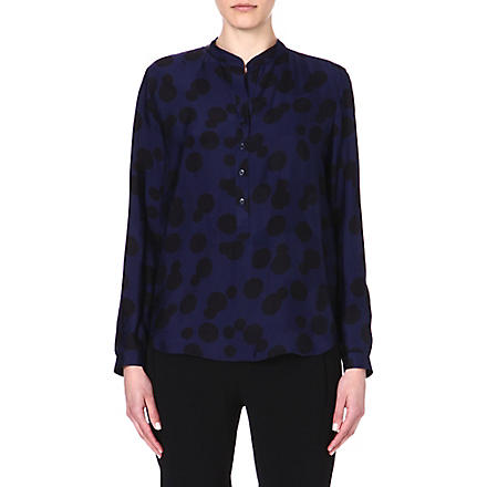 STELLA MCCARTNEY Polka-dot shirt (Blue