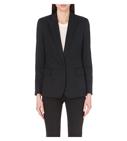 STELLA MCCARTNEY 英格丽羊毛夹克 (黑色