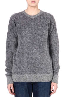 STELLA MCCARTNEY Oversized mohair-blend jumper