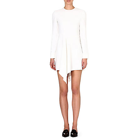 STELLA MCCARTNEY Ruffle front dress (White