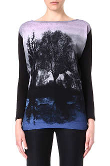 STELLA MCCARTNEY Forest-print top