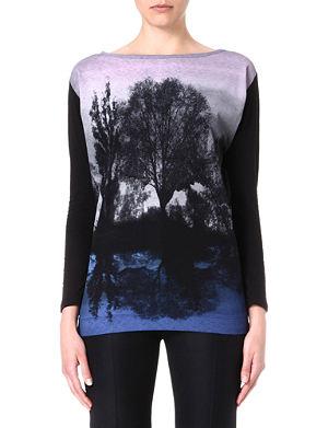 STELLA MCCARTNEY Forest-print top