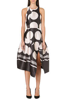 STELLA MCCARTNEY Polka dot satin dress