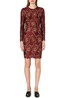 STELLA MCCARTNEY Long-sleeved lace dress