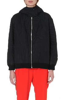 STELLA MCCARTNEY Quilted zip-up jacket