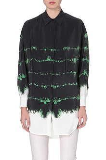 STELLA MCCARTNEY Ombre tie-dye print shirt