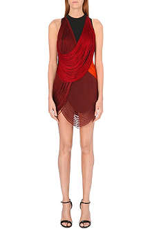 STELLA MCCARTNEY Fringed mini dress