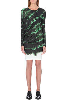 STELLA MCCARTNEY Tie-dye jersey dress