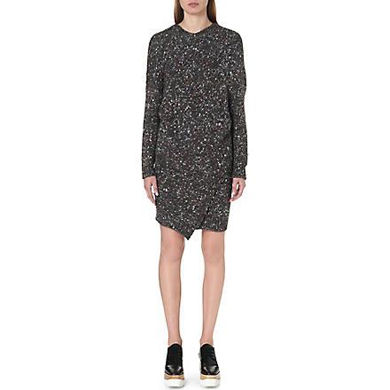 STELLA MCCARTNEY Chunky knitted dress (Charcoal