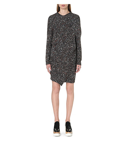 STELLA MCCARTNEY Chunky knitted dress (Charcoal