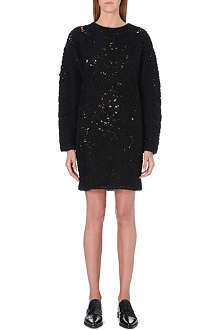 STELLA MCCARTNEY Crocheted jumper dress
