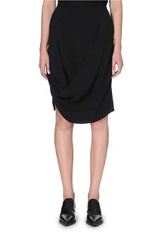 STELLA MCCARTNEY Fitted drape skirt