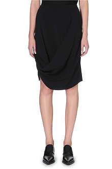 STELLA MCCARTNEY Fitted drape skirt