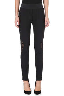 STELLA MCCARTNEY Sheer mesh detail leggings