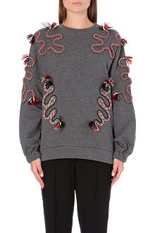 STELLA MCCARTNEY Rope-detail sweatshirt