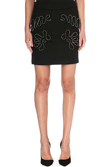 STELLA MCCARTNEY Zip-detail mini skirt