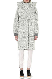 STELLA MCCARTNEY Oversized mohair and wool-blend coat