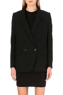 STELLA MCCARTNEY Fringed-back wool jacket
