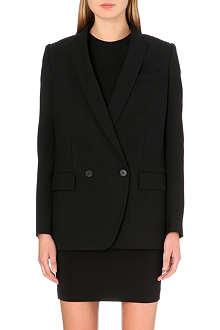 STELLA MCCARTNEY Fringed-back wool jacket