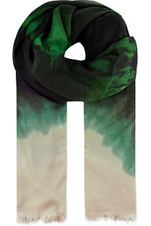 STELLA MCCARTNEY Tie dye scarf