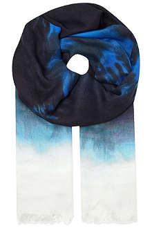 STELLA MCCARTNEY Tie dye scarf