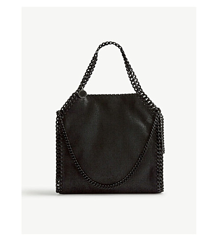 STELLA MCCARTNEY Falabella mini tote bag (Black