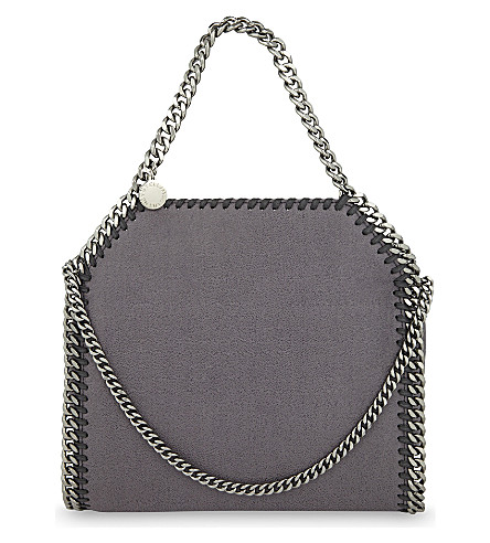 STELLA MCCARTNEY Falabella mini tote (Bark