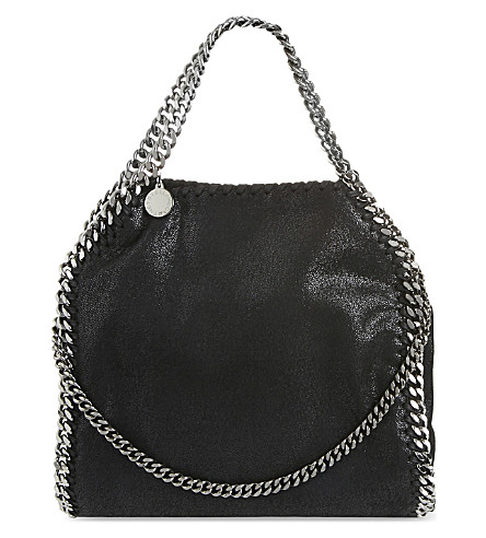 STELLA MCCARTNEY Falabella faux-leather tote bag (Blk