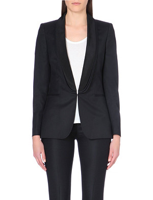 STELLA MCCARTNEY Triple lapel wool blazer