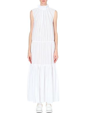 STELLA MCCARTNEY Gathered maxi dress