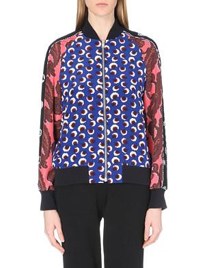 STELLA MCCARTNEY Silk bomber jacket