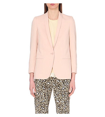 STELLA MCCARTNEY Tailored crepe jacket (Powder