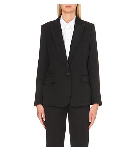 STELLA MCCARTNEY Tuxedo wool jacket (Black