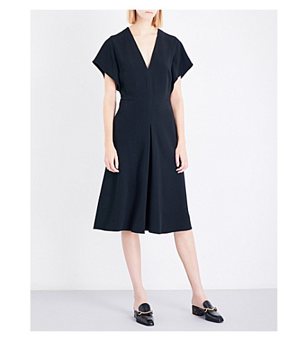 STELLA MCCARTNEY Andrea crepe dress (Black