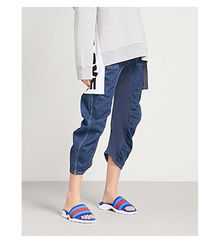 STELLA MCCARTNEY Xenia slim-fit mid-rise jeans (Blue