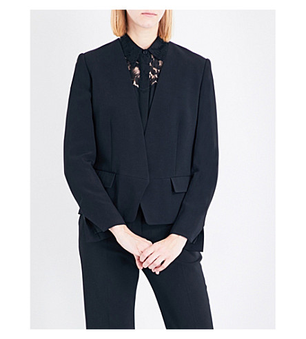 STELLA MCCARTNEY Valenta crepe jacket (Black