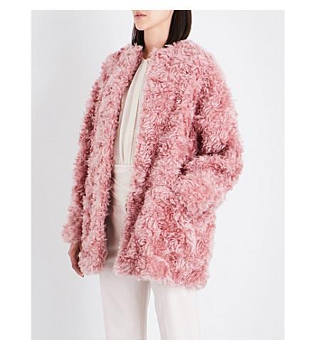 STELLA MCCARTNEY Eina oversized faux-fur coat (Plush