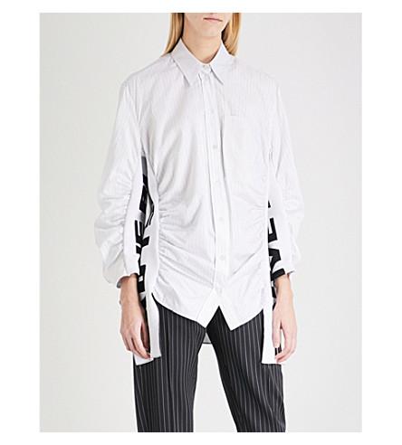 STELLA MCCARTNEY Zoe All Is Love cotton-blend shirt (Natual