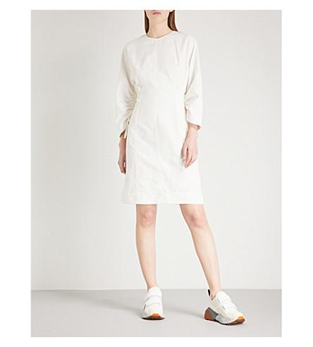STELLA MCCARTNEY Sia cotton-blend dress (Cream