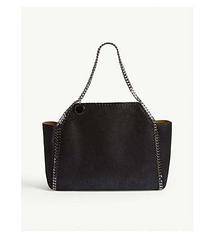 STELLA MCCARTNEY Falabella Reversible tote bag (Black
