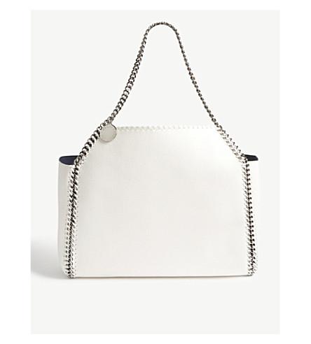 STELLA MCCARTNEY Falabella Reversible tote bag (Navy