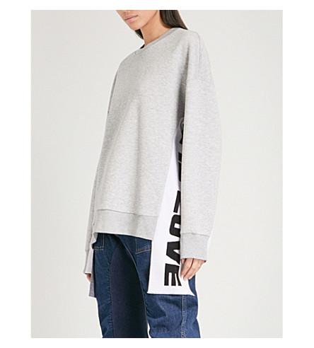 STELLA MCCARTNEY All Is Love cotton-blend sweatshirt (Grey